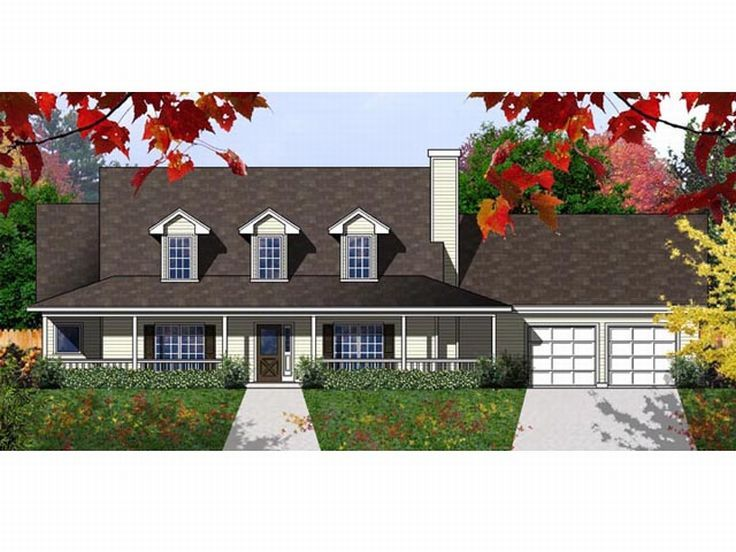Country House Plan, 015H-0110