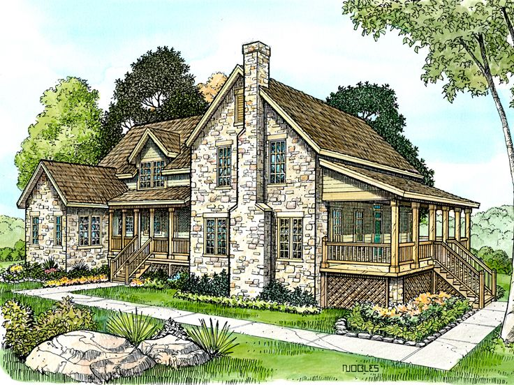 2-Story House Plan, 008H-0025