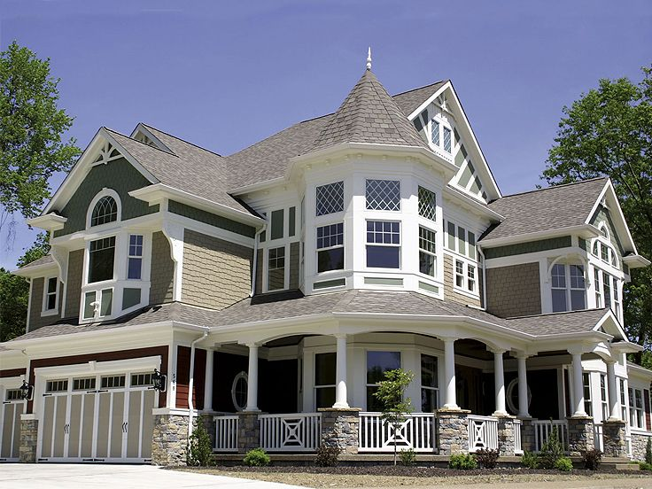 Victorian House Plan, 035H-0083