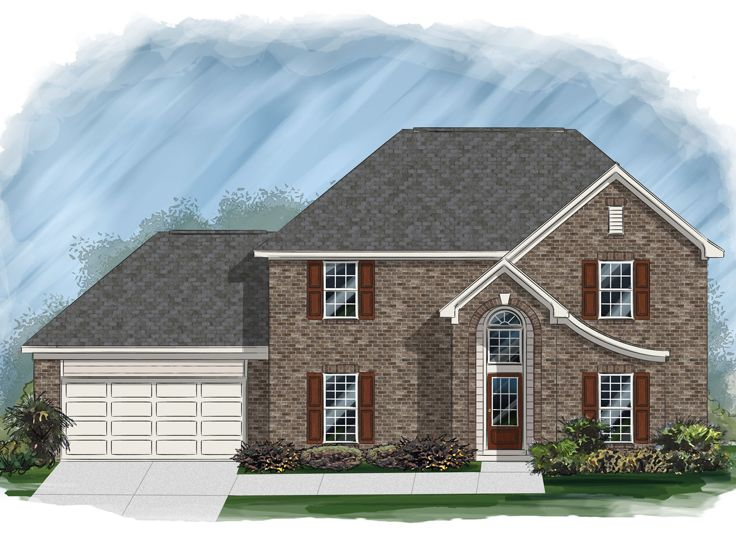 European House Plan, 061H-0159