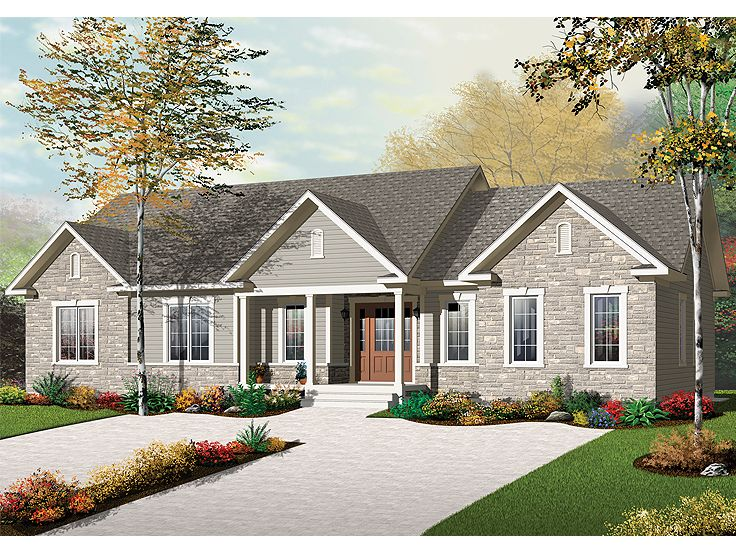 Multi-Generational House Plan, 027M-0049