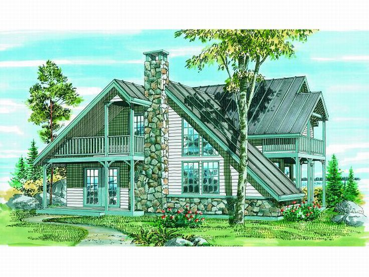 Unique House Plan, 032H-0024