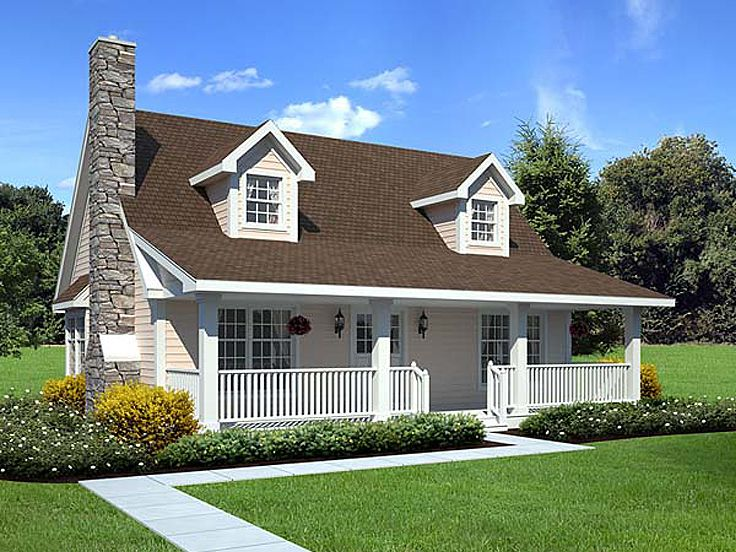 Small Country Home, 047H-0048