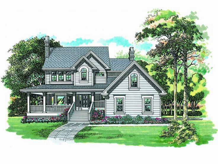 Country House Plan, 032H-0089