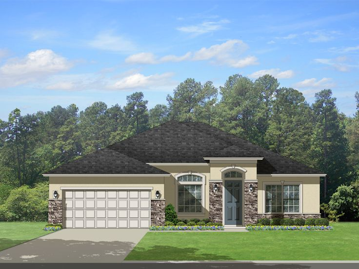 Plan 064h 0072 find unique house plans home plans and for Sunbelt house plans