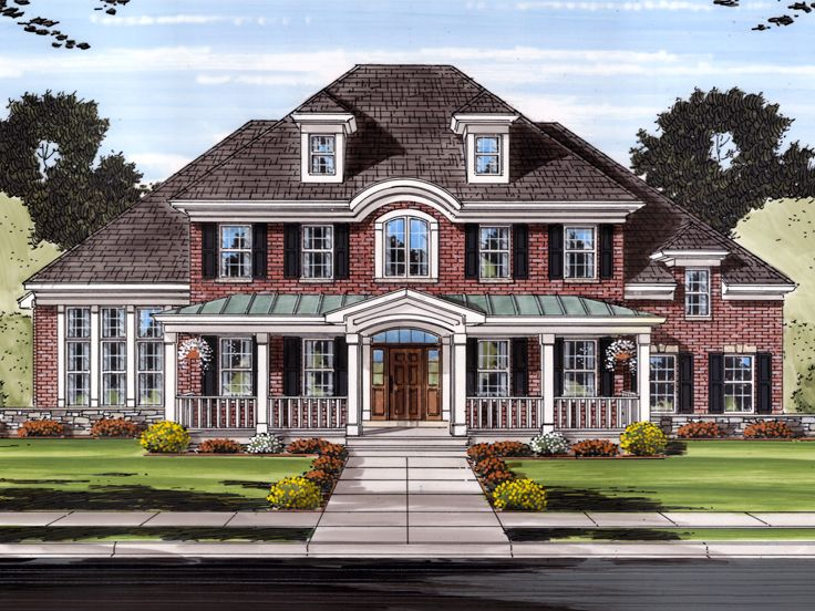 Premier Luxury Home Plan, 046H-0102
