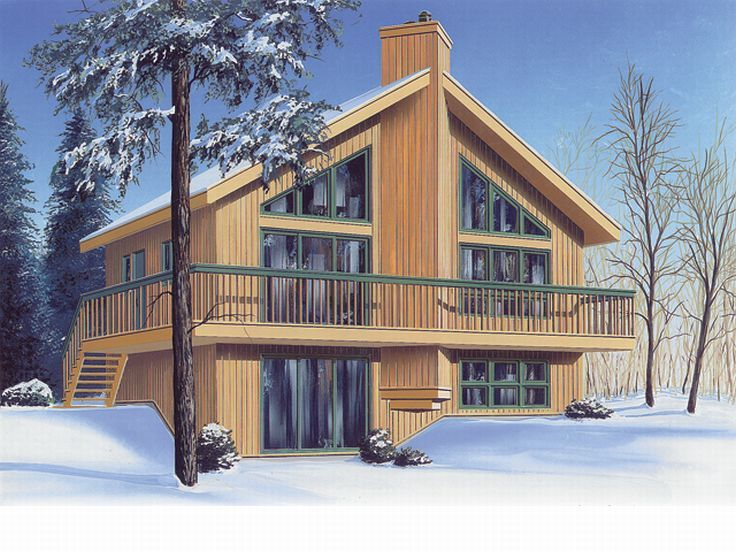 Small Home Plan, Right, 027H-0075