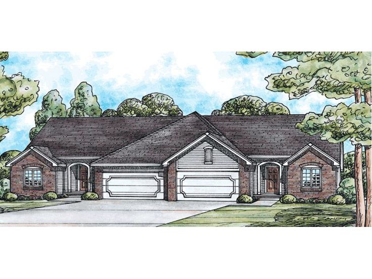 Multi-Family Home Plan, 031M-0007