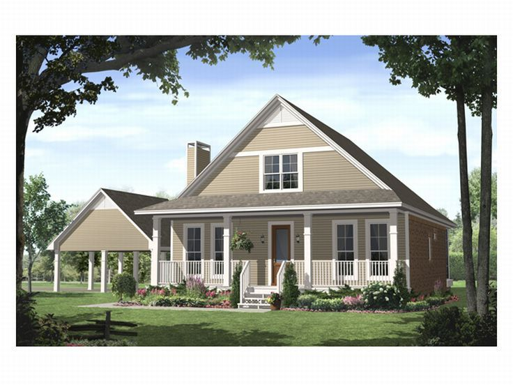 Country House Plan, 001H-0072