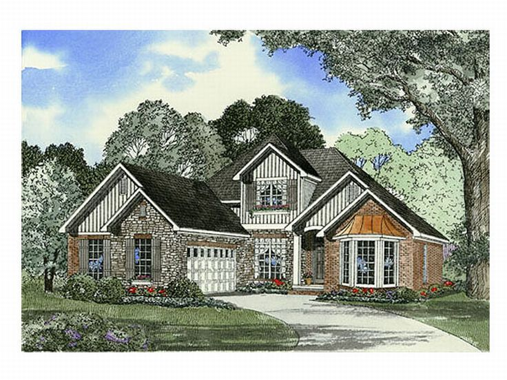 European Home Plan, 025H-0108