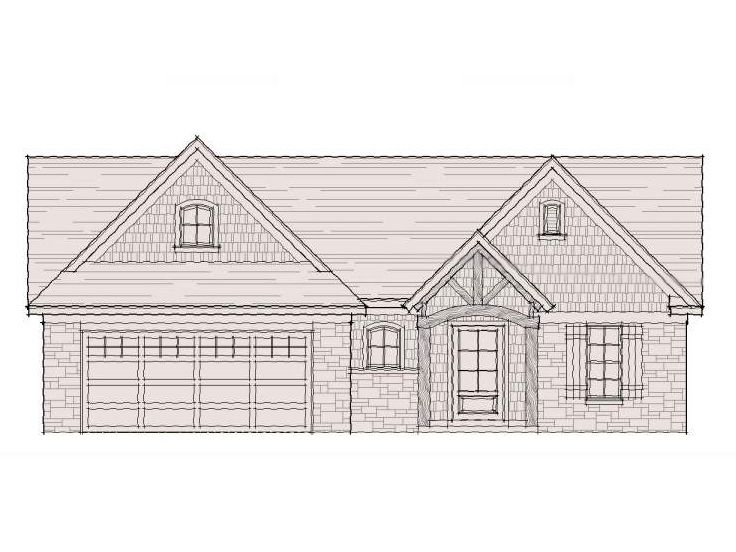 Craftsman House Plan, 061H-0037