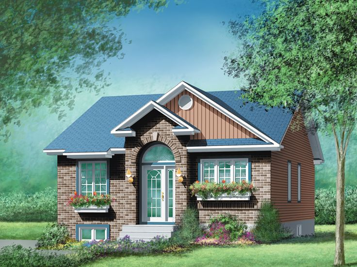 Small House Plan, 072H-0035