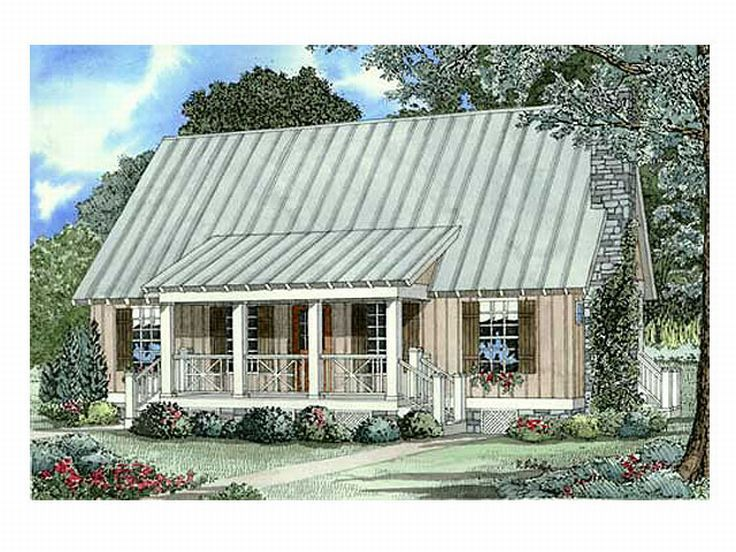 Mountain House Plan, 025H-0085