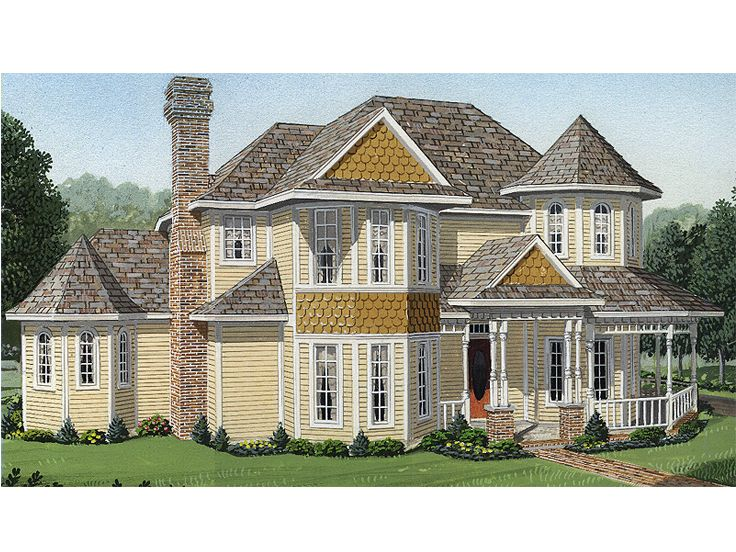 Victorian House Plan, 054H-0125