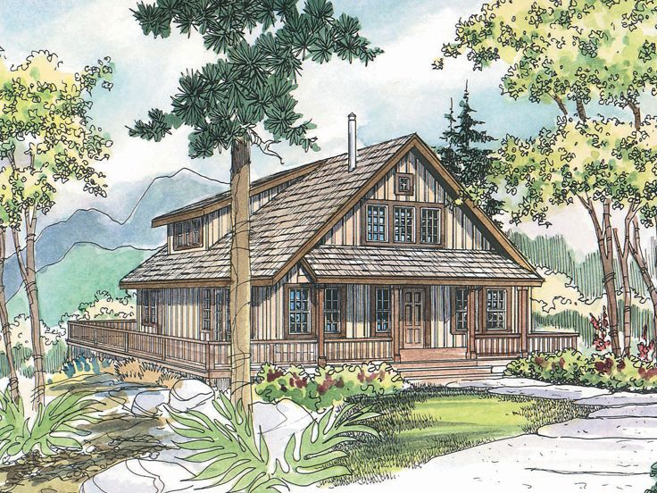 Country House Plan, 051H-0094