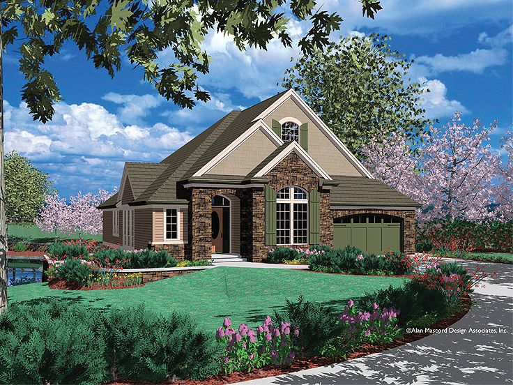 European Home Plan, 034H-0080