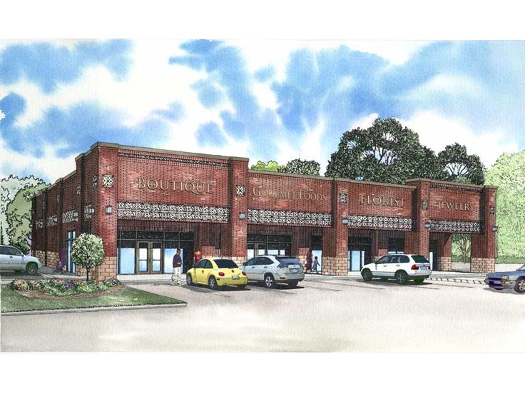 Strip Mall Plan, 025C-0035