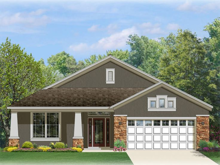 1-Story Home Plan, 064H-0062