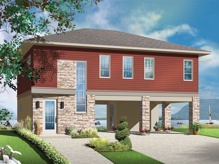 Unique Garage Plans Unique Garage Apartment Plan With