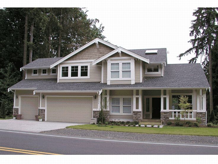 Craftsman House Plan, 035H-0055