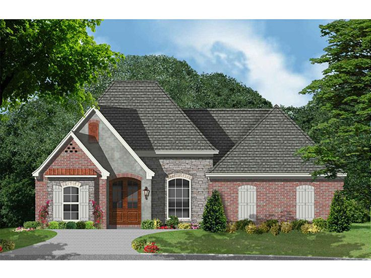 One-Story House Plan, 060H-0023