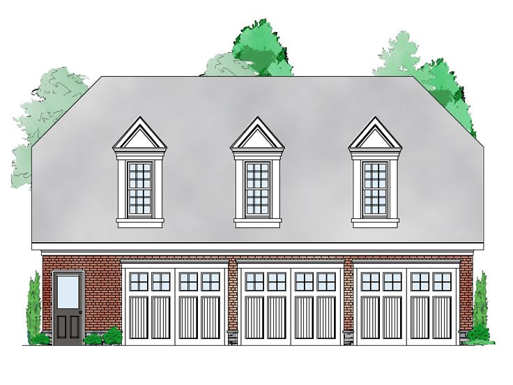 Carriage House Plan, 053G-0014