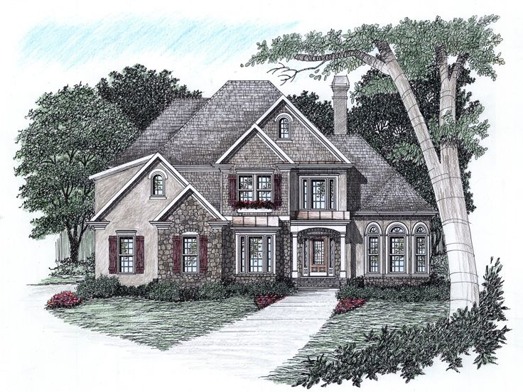 European Home Plan, 045H-0017
