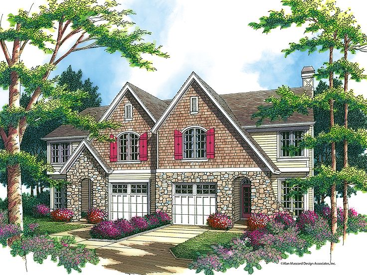 Multi-Family House Plan, 034M-0013