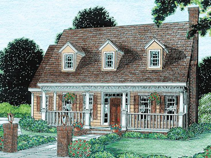 Affordable Home Plan, 059H-0007