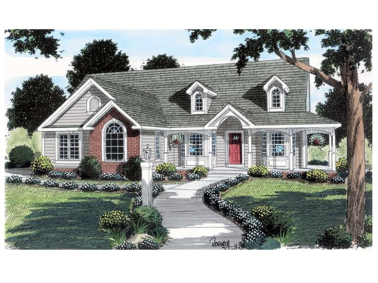 Affordable Home Plan, 047H-0034