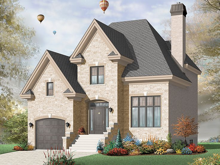 Two-Story Home Design, 027H-0260