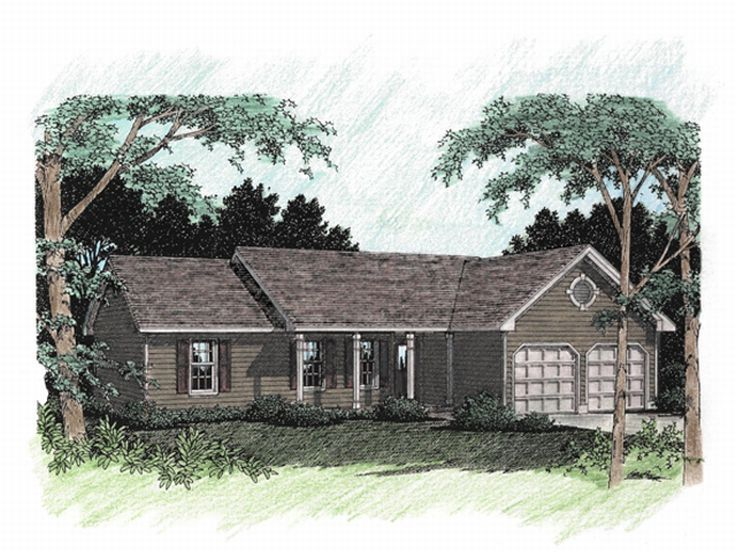 Small House Plan, 007H-0015