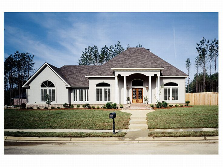 Sunbelt Home Plan, 022H-0034