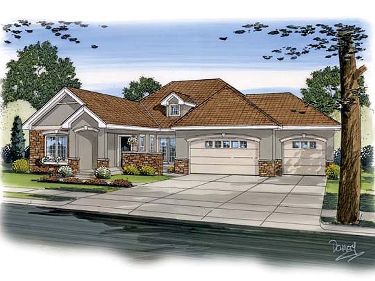 European Home Plan, 050H-0009