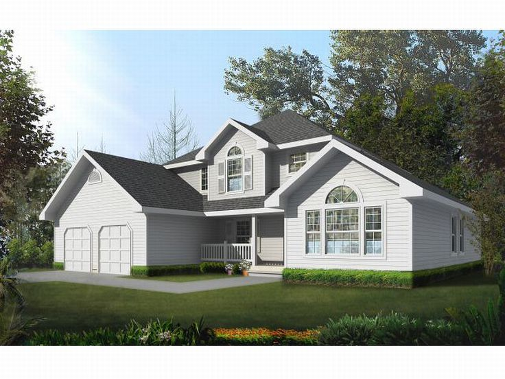 Traditional House Plan, 026H-0041