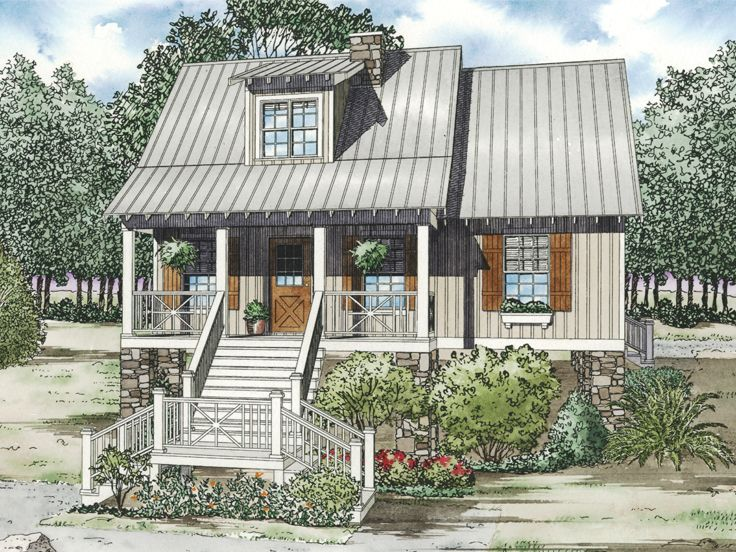 Vacation Home Plan, 025H-0154