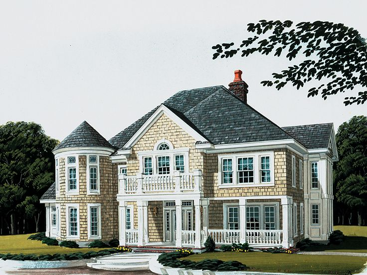 Luxury Home Plan, 054H-0004