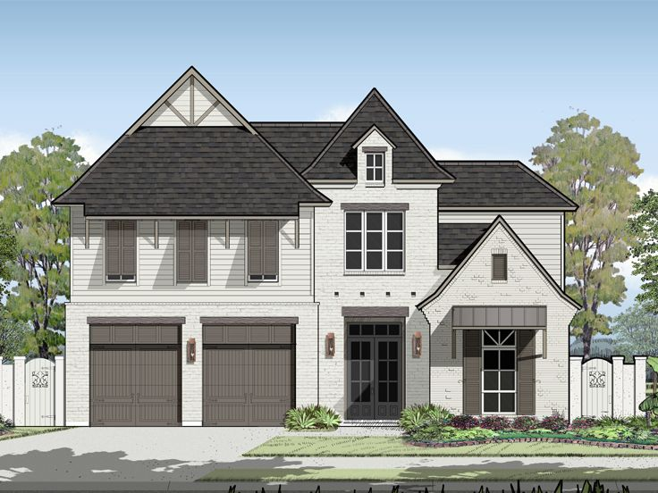 Family House Plan, 079H-0015