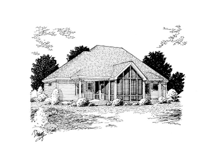 Affordable House Plans Affordable Ranch Home Plan 059H