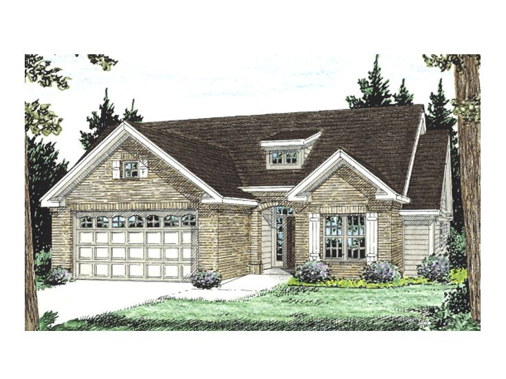 Small Home Plan, 059H-0059