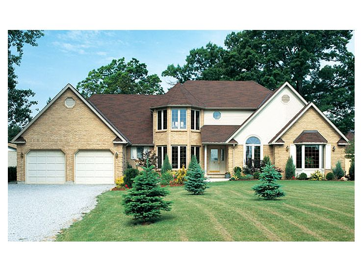 European House Plan, 047H-0005