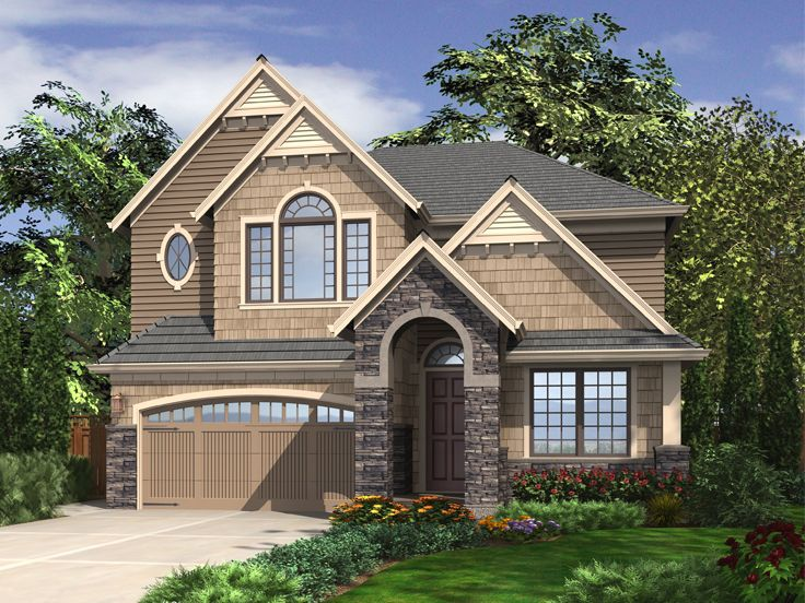 Two-Story House Plan, 024H-0004