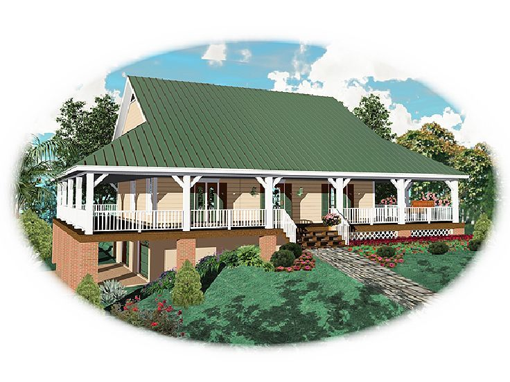 Country House Design, 006H-0056