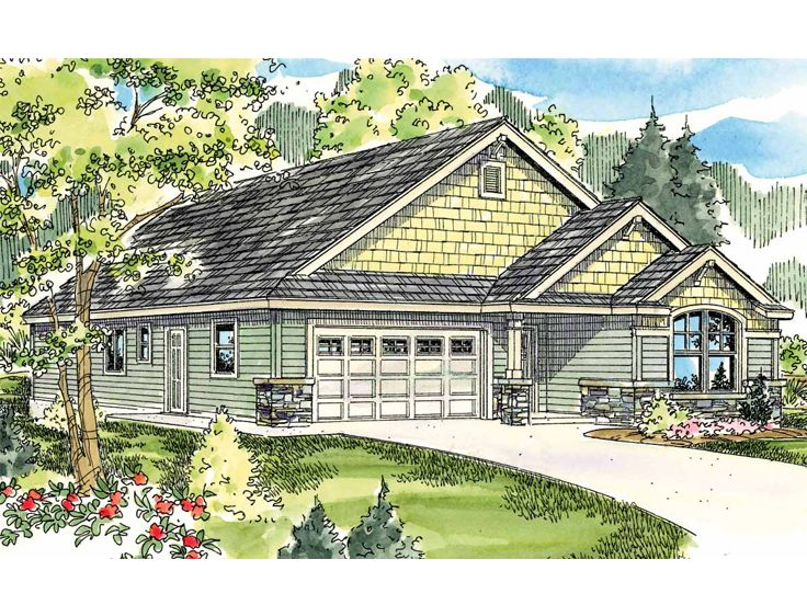 One-Story House Plan, 051H-0172