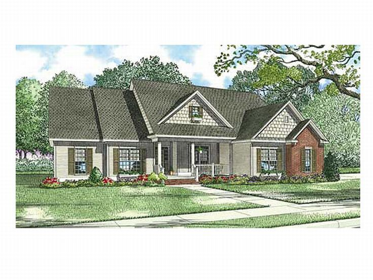 Two-Story Home Plan, 025H-0090