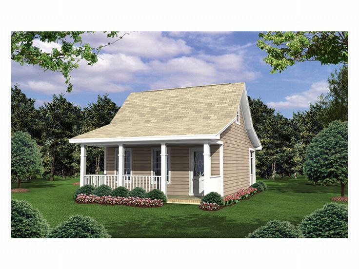 Love Shack House Plan, 001H-0002