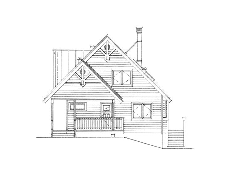 Vacation House Plan, 010H-0020