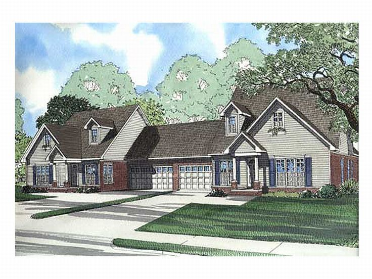 Multi-Family Home Plan, 025M-0028