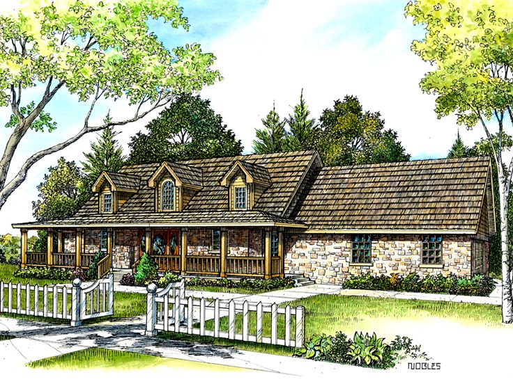 Country Home Plans 2 Story Country House Plan Design