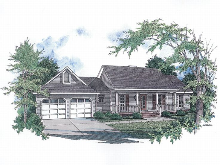 Small House Plan, 004H-0023